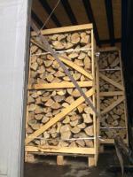 Foto 4 Kaminholz Buche Kamin fertig ges�gt und gespalten Deutschland weite Anlieferung mit LKW