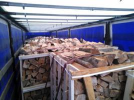 Foto 15 Kaminholz Buche Kamin fertig ges�gt und gespalten Deutschland weite Anlieferung mit LKW