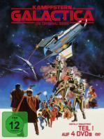 Kampfstern Galactica, (Neuauflage), 4 DVDs (DVD)