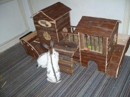 Kaninchen-/ Meerschweinchen- Abenteuerlandschaft