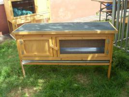 Foto 2 Kaninchenstall , Hasenstall mit Kleintierhaus zu verkaufen