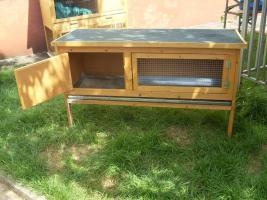 Foto 4 Kaninchenstall , Hasenstall mit Kleintierhaus zu verkaufen