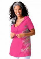 Kapuzenshirt mit Druck pink Your Life your Fashion Gr. 40/42 - Neu & OVP