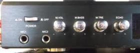Foto 2 Karaoke 5-Kanal Hi Fi Stereo-Verstärker McVoice SV-2803-RK