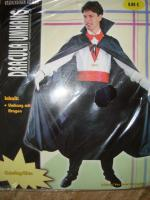 Karnevalskostüm / Dracula Umhang/ Neu