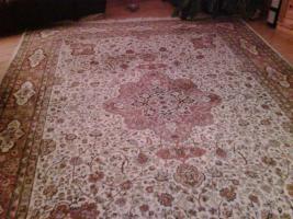 Kaschmir Teppich handgeknüpft
