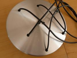 Foto 4 Kaskade Lampe Hängelampe 6 flammig, Glass, Chrom DORIA, 60er 70er