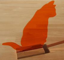 Katze Figur Dekoration Acrylglas