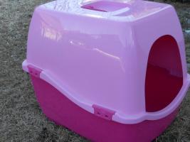 Katzenklo in Pink