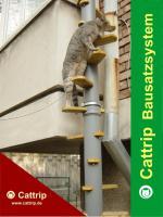 Katzenleiter - Balkontreppe - Katzentreppe – Kratzbaum - Cattrip