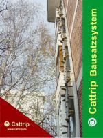 Foto 2 Katzenleiter - Balkontreppe - Katzentreppe – Kratzbaum - Cattrip