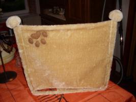 Katzenplüschmulde (neuwertig) zu verkaufen