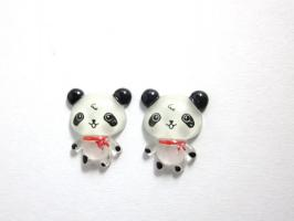 Kawaii Panda Ohrstecker