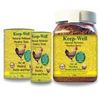 Keep-Well Tonic für Hühnern, Ente und Geflügel. 100%ig natürliches Stärkungsmittel.