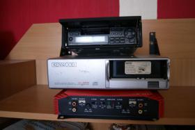 Kenwood Autoradio plus CD-Wechsler und Fernbedienung
