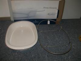 Foto 2 Keramik Backform Oval mit Träger