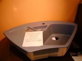 Keramik- Einbauspüle V&B