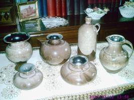 Keramikset 6teilig ( getöpfert )