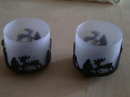 Kerzenhalter 2 Stück  --NEU--