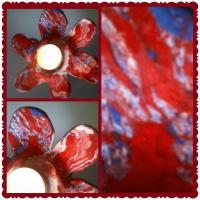 Kerzenhalter aus Ton