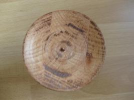 Foto 2 Kerzenhalter aus massivem Holz, Handarbeit
