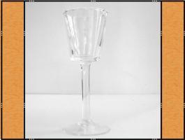 Foto 2 Kerzenhalter, Stielglas – mundgeblasen (7 x 20)