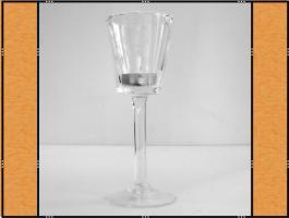 Foto 3 Kerzenhalter, Stielglas – mundgeblasen (7 x 20)