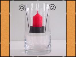 Foto 2 Kerzenhalter, Teelichthalter – Metall (6 x 13)