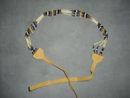 Foto 2 Kette aus echtem Lederband