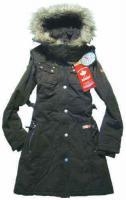 Khujo-Holly figurbetonter Damen-Wintermantel Gr.40 Khaki (Neuwertig)
