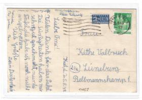 Kiel   - 60 Jahre BRD - Bedarf 1949