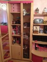 Foto 4 Kinder Eck-Kleiderschrank (mit rosa Akzenten)
