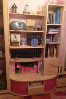 Foto 5 Kinder Eck-Kleiderschrank (mit rosa Akzenten)