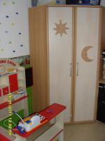 Kinder Kleiderschrank / Eckschrank