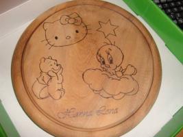 Foto 9 Kinder- Frühstücks - Bretter - Mit Wunschname *NEU* Filly Fairy, Hello Kitty