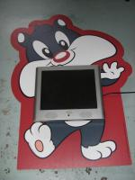 Kinderfernseher mit Wanddisplay ''Sylvester''