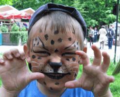 Foto 2 Kinderschminken professionell