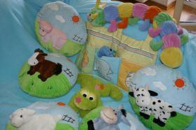 Foto 2 Kindersofa-Decke zum Spielen geeignet