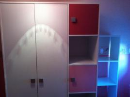 Foto 3 Kinderzimmer für Mädels in pink u. weiß