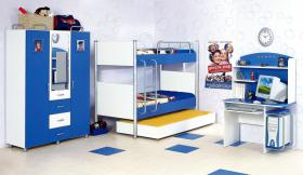 Kinderzimmer Smart in blau
