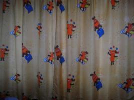 Kinderzimmervorhänge