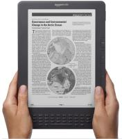 Kindle DX, Free 3G, 9,7 ''E-Ink-Display, 3G-Works Globally