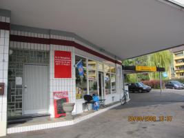 Kiosk u. Werkstatt mit 20 KFZ Stellplätzen