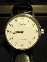 Klassische Glashütte Uhr v. 1990-Classic Gents