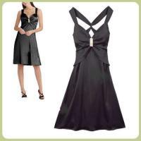 Kleid Abendkleid Gr 46/48 raffiniert und sexy schwarz kurz