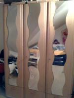 Kleiderschrank 3- türig, helle Kiefer