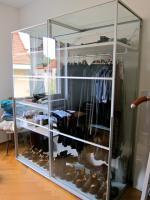 Foto 2 Kleiderschrank mit Glas Optik