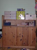 Foto 2 Kleiderschrank und Wickelkommode aus Kiefermassif