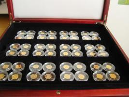 Kleine Goldmünzen