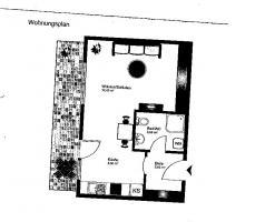 Foto 2 Kleine Wohnung in Münster